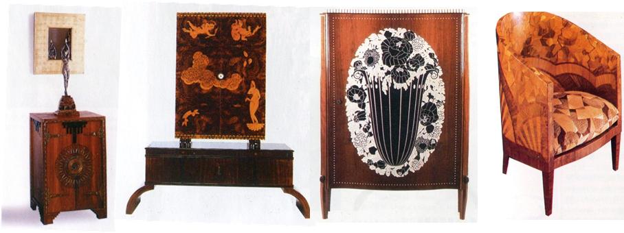 <p>使用昂貴材料製作的奢華家具</p>