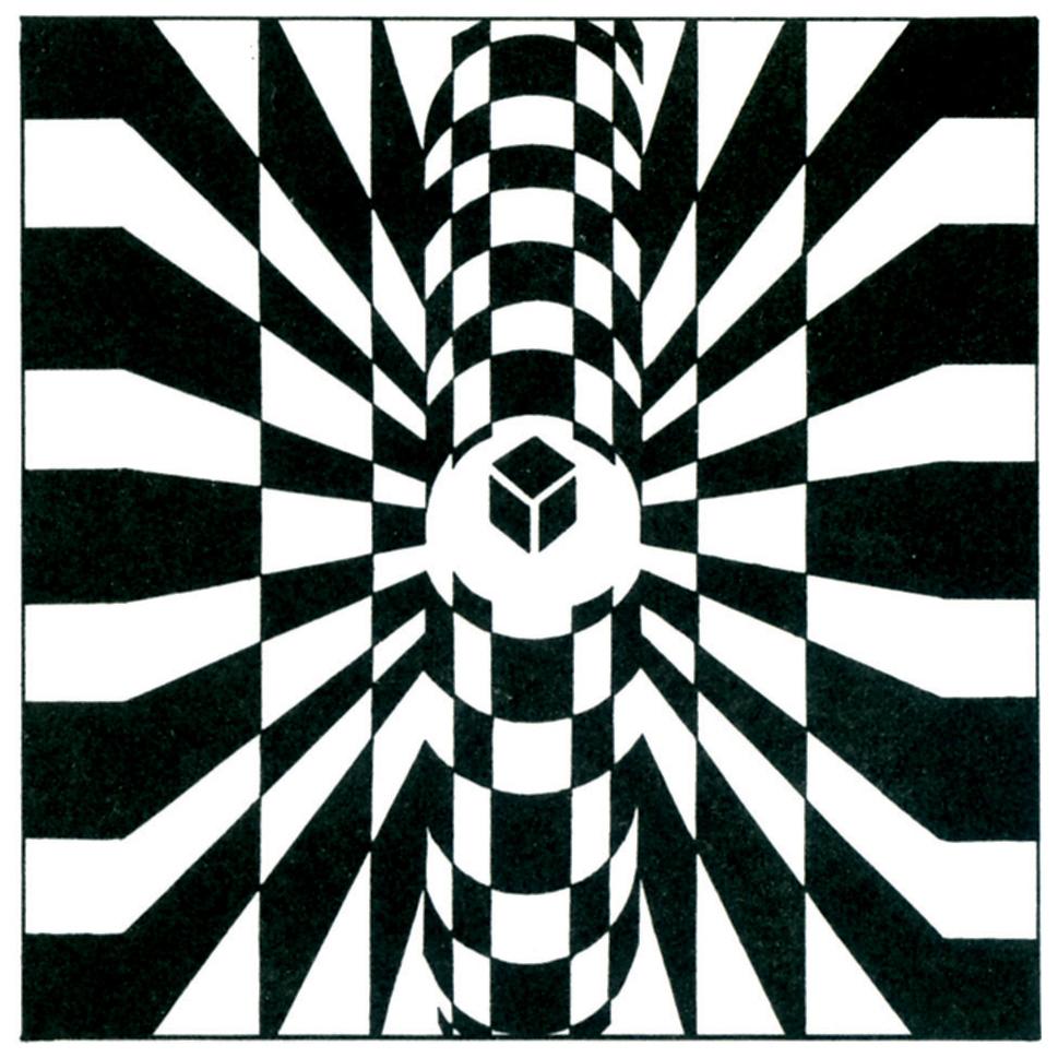 图2-17 面构成的立体形态图片