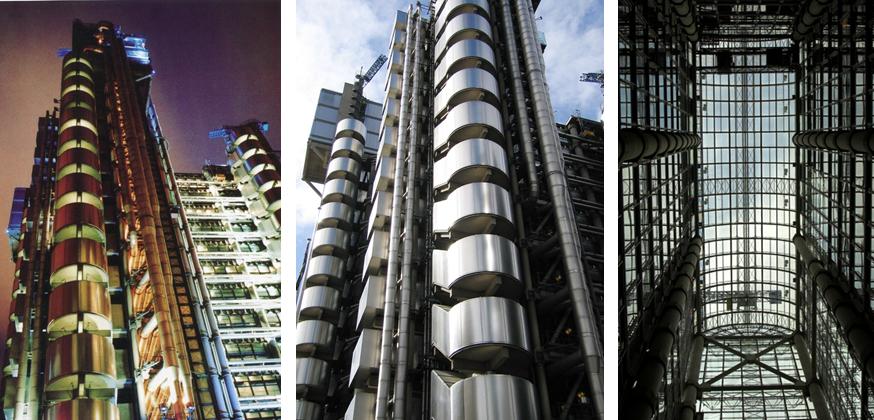 <p>高科技的建築設計</p>
