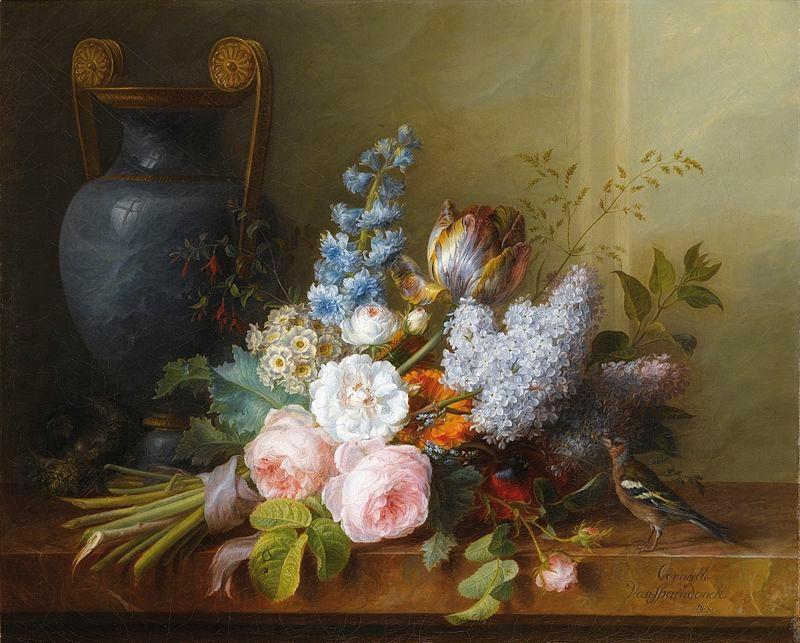 <p>Cornelis&nbsp;van&nbsp;Spaendonck荷蘭畫家</p>  <p>(1756年12月7日&nbsp;-&nbsp;1839年12月22日)</p>