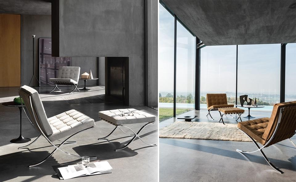 <p>密斯凡德羅曾說過:「建造一棟摩天大樓都比設計一把好椅子容易多了,</p>  <p>因為兼顧輕巧、結實與舒適的椅子非常難設計。」而《巴塞隆納椅》正因三者皆具,</p>  <p>因此成為密斯凡德羅的設計椅代表作。</p>