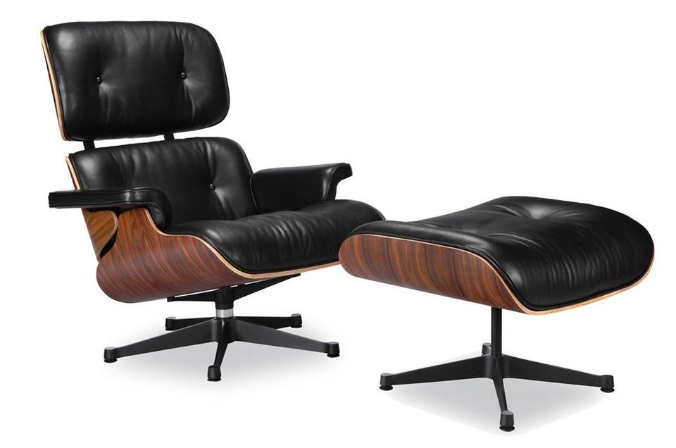 <p>這是Eameses為高端市場設計的第一把椅子。</p>