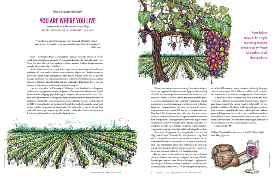 <p>紐約&nbsp;Edible&nbsp;美食雜誌內頁插畫設計合作</p>